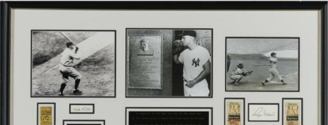 Babe Ruth and Roger Maris Home Run Record